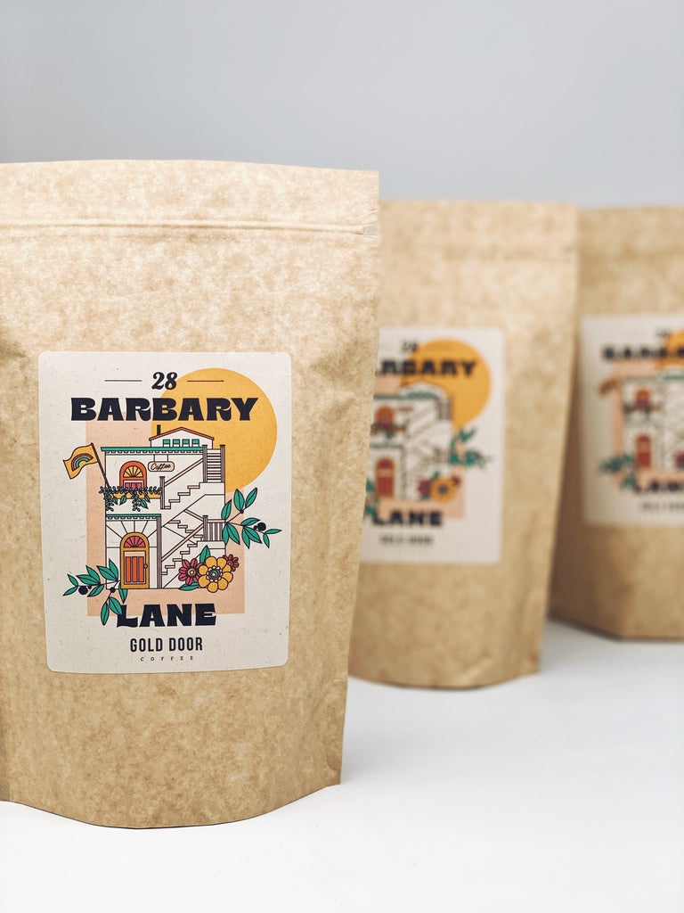Bags of 28 Barbary Lane, Septembers featured roast.