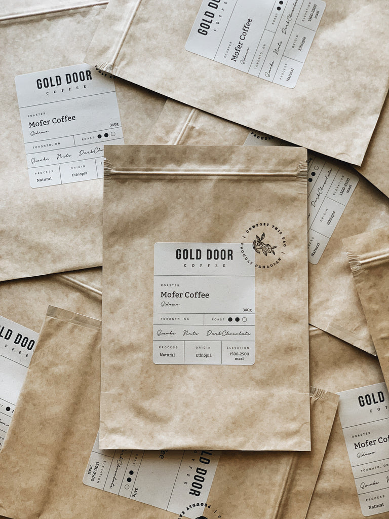 Gold Door Coffee Featured August Roaster Mofer Coffee