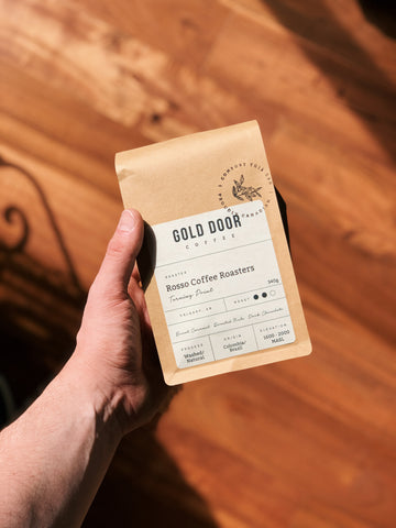 Gold Door Coffee featured Traveller roast - Turning Point by Rosso Coffee Roasters