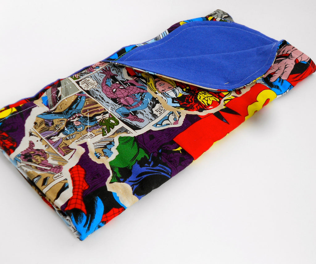 Marvel Avengers BURST! Blanket