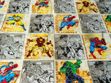 Marvel Avengers Block Fabric
