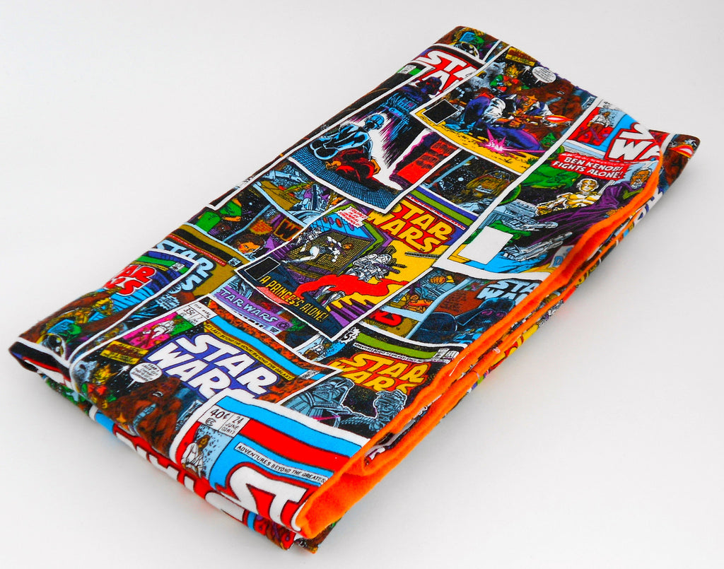 Star Wars Retro Comic Book Blanket