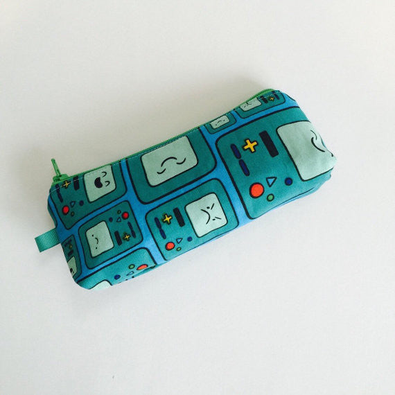Adventure Time Small Beemo Zipper Case