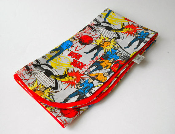 Star Trek Original Vintage Cartoon Blanket