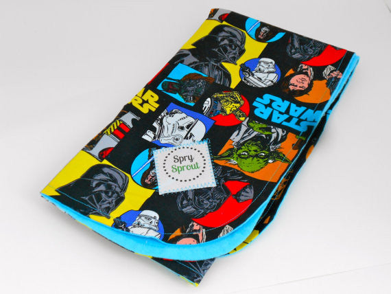 Star Wars Bright Cartoon Blanket