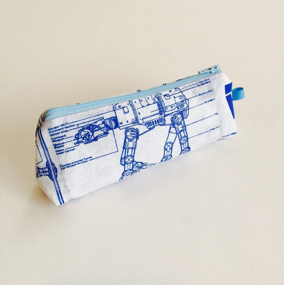 Star Wars Empire Blueprint Small Zippered Pouch