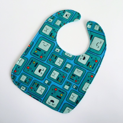 Adventure Time Beemo Baby Bib