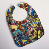 Marvel Avengers Bright Comic Covers Bib