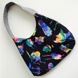 Adventure Time Tie Dye Spry Purse