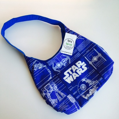 Star Wars Blue Blueprints Spry Purse