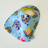 My Little Pony Rainbow ZAP! Snap Baby Bib