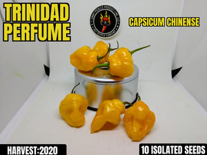 Trinidad Perfume-Heirloom (Capsicum Chinense) Mild- 10 Isolated Seeds