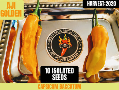 Aji Golden (Capsicum Baccatum) Mild- 10 Isolated Seeds