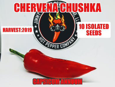 Chervena Chushka (Capsicum Annuum)-No Heat- 10 Isolated Seeds