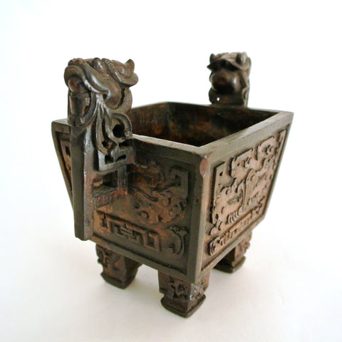 Chinese Rare Bamboo Burner with Quality Carving