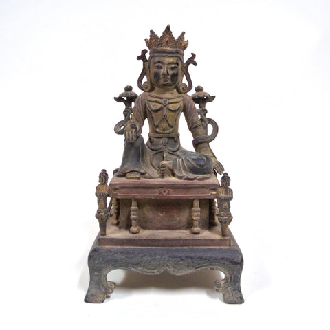 Chinese Bronze Buddha from Ming Dynasty