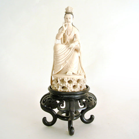 Chinese 19th Century Guanyin Buddha