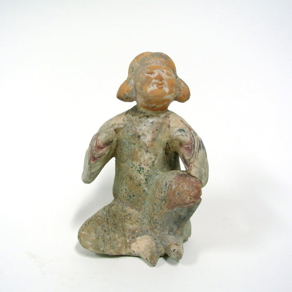 Chinese Fat Lady Statue from Tang Dynasty