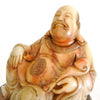 Chinese Quality Soapstone Statue of Sitting Old Man