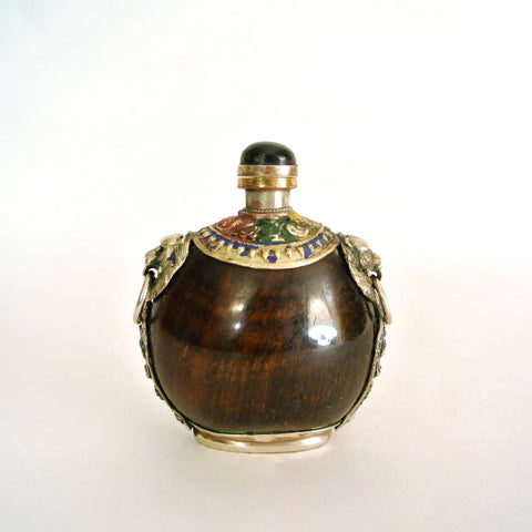 Chinese Horn Perfume Snuff Bottle