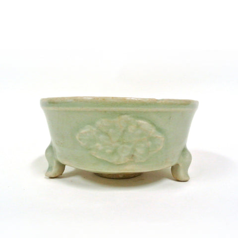 Three-footed Celadon Incense Burner from the Ming Dynasty