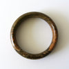 Chinese Natural Dark Brown Jade Bangle