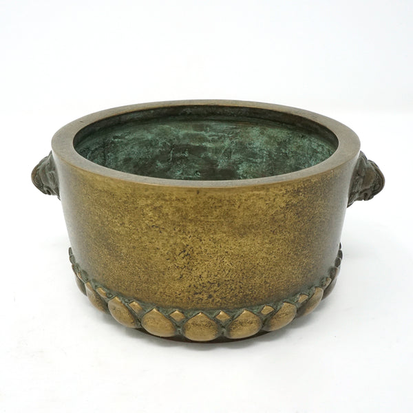 Chinese Bronze Incense Burner with Signed Mark