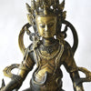 Chinese Gilt Copper Buddha Statue