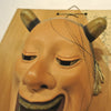 Japanese Mask from Persimmon Tree