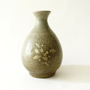 Korean Small Inlaid Flower Bottle from Koryo Period