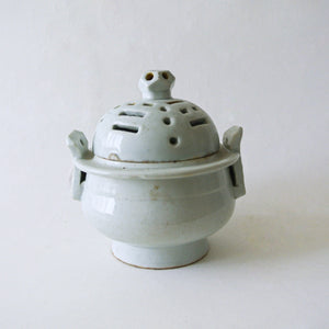 White Porcelain Incense Burner from Chosun Dynasty