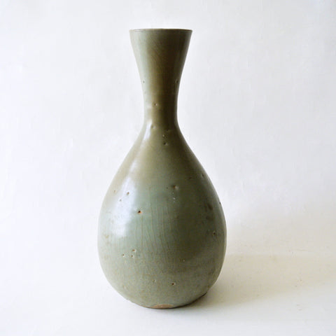 Fine Celadon Vase with Beautiful Patina from Koryo Period