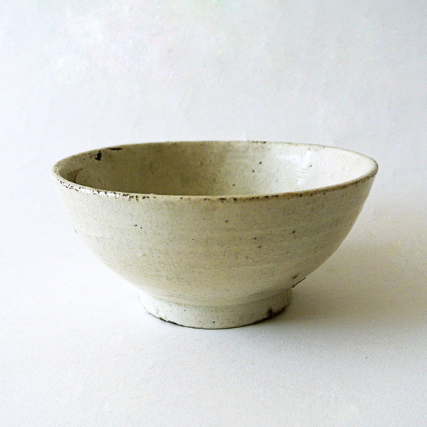 White Pottery Tea Bowl from Chosun Dynasty