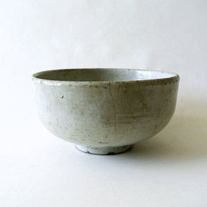 White Pottery Bowl from Chosun Dynasty