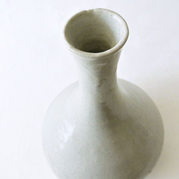 White Wine Bottle Vase from Chosun Dynasty
