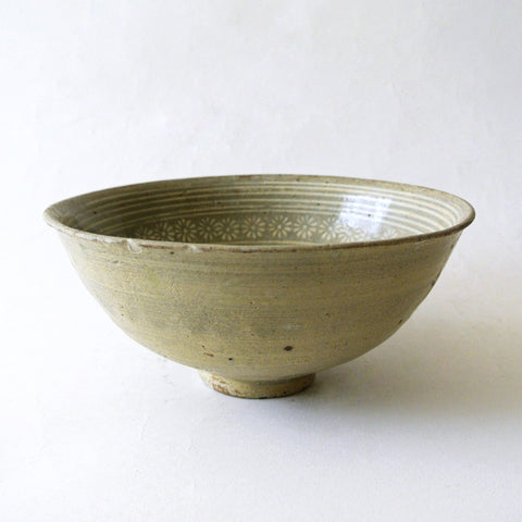 Chosun Inlaid Flower Design Bunchung Bowl