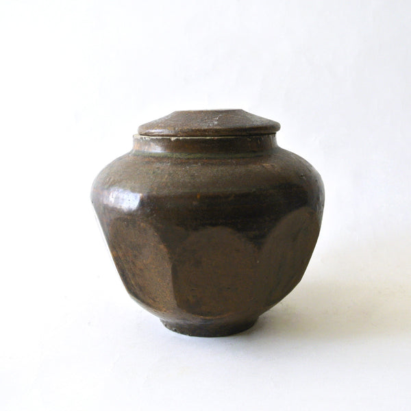 Honey Jar with Lid from Chosun Dynasty