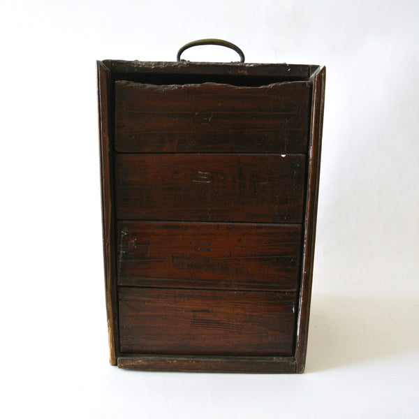 Small Wooden Drawer from Chosun Dynasty