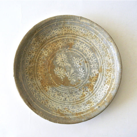 Inlaid Bunchong Dish from Chosun Dynasty