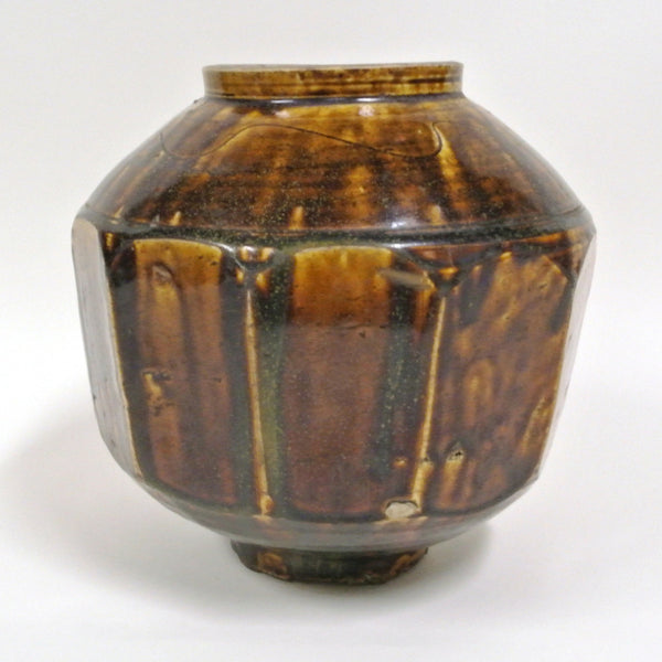 Korean Facetted Honey Jar 18/19th  Century | Large