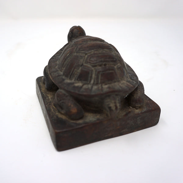 Turtle Shaped Bronze Seal from Chosun Dynasty