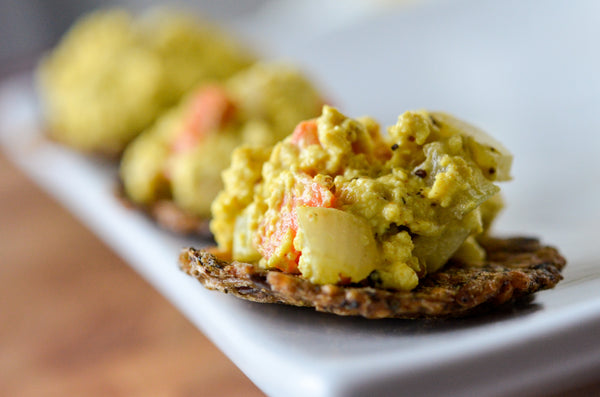 Eggless egg salad with black salt and turmeric indian as apple pie i have been making this mock egg salad since i tried it at a hindu temple when i was living in hawaii i was a graduate student at the east west center forumfinder Images