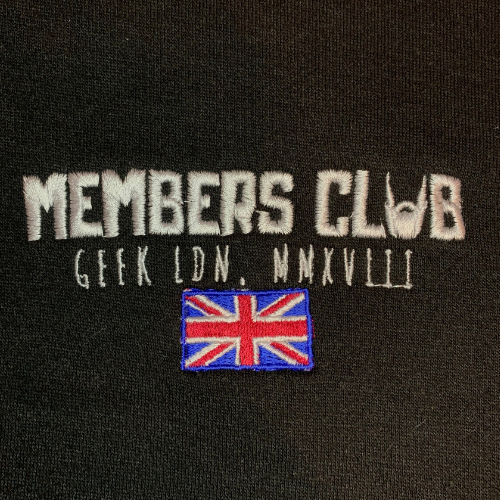 Members Club T-Shirt - Black