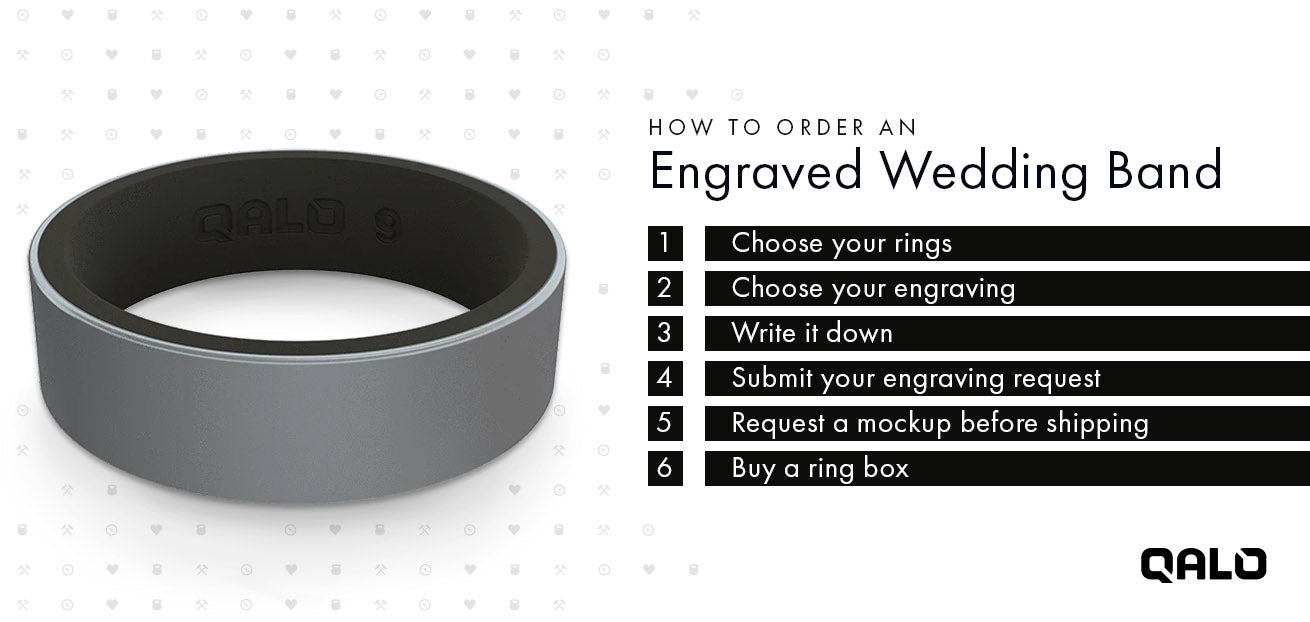 How to Order an Engraved Wedding Band