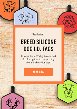 Breed Silicone Dog ID Tag