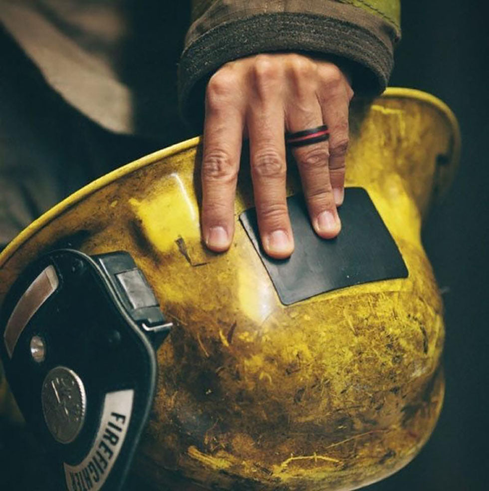 firefighter and his ring