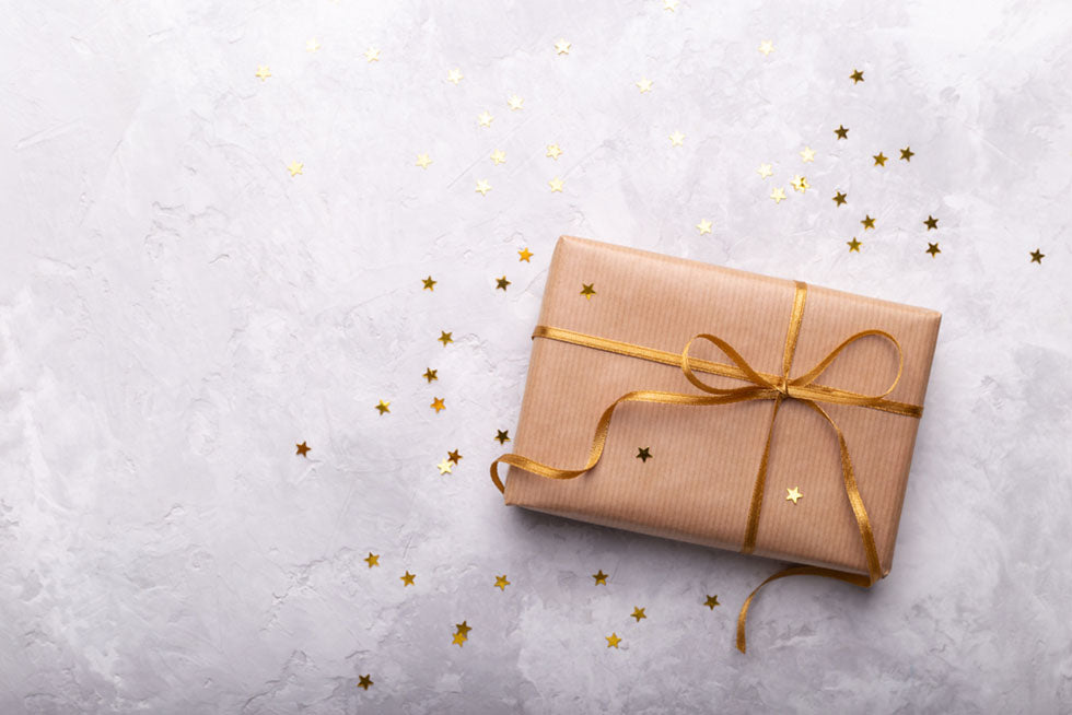 gift package confetti