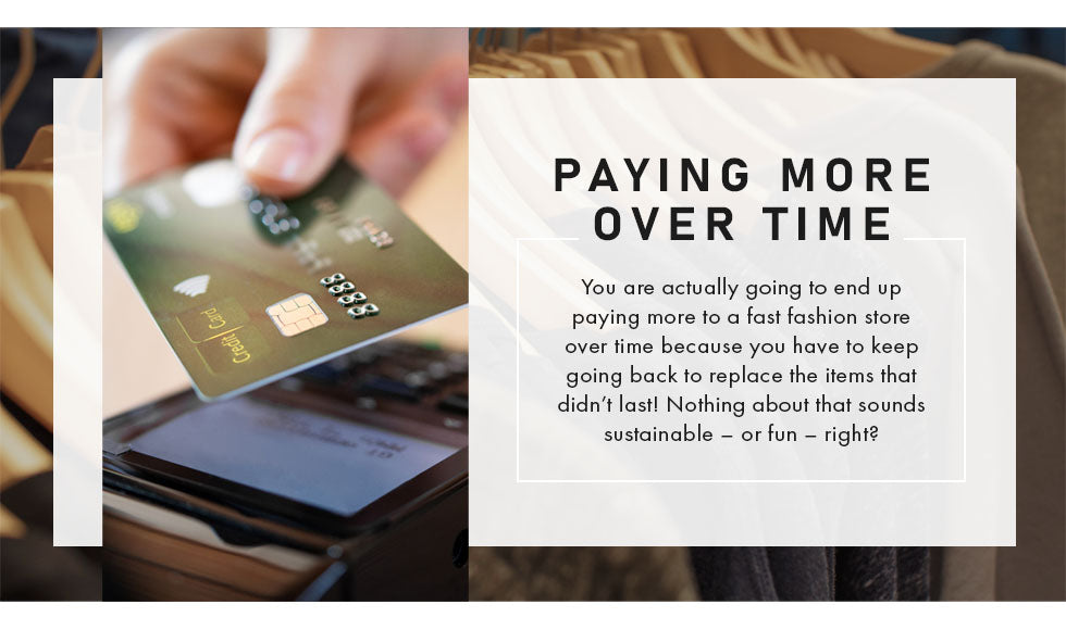 paying more over time graphic