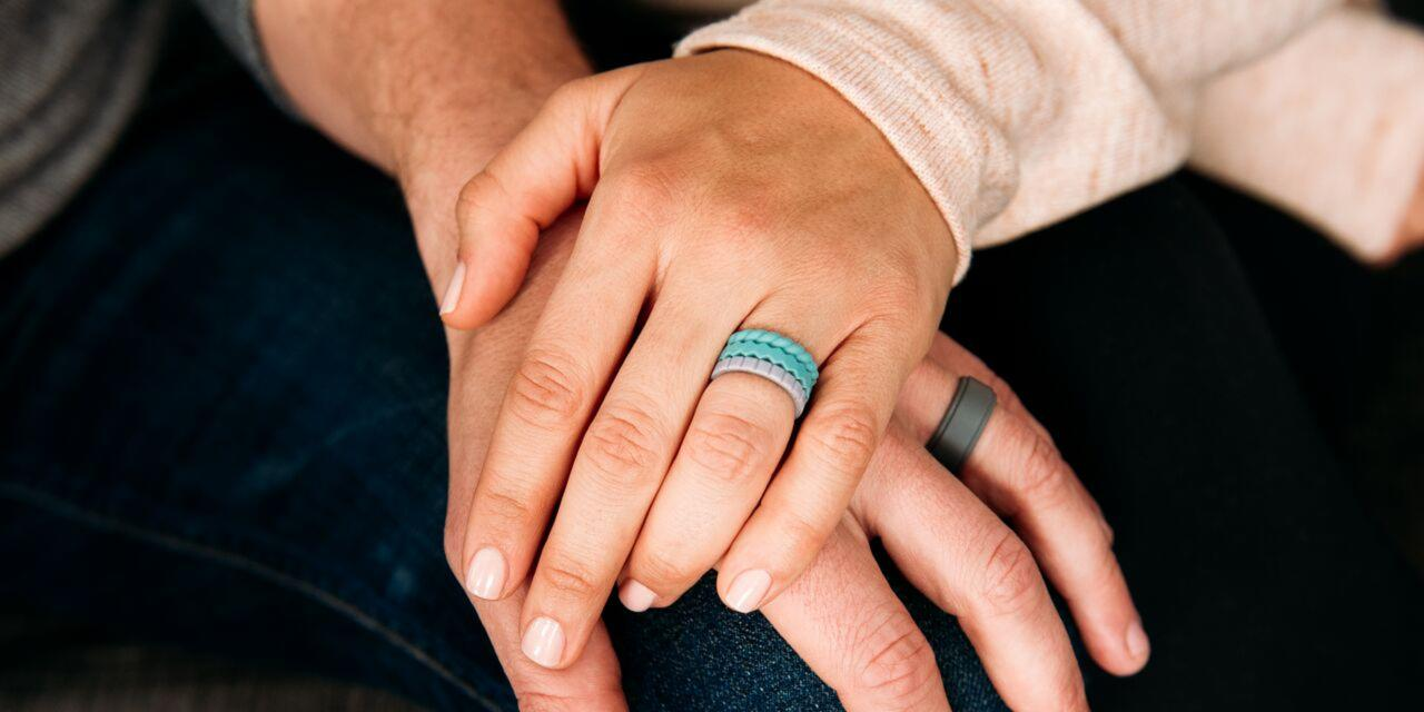 QALO Womens Inspired Silicone Ring Collection