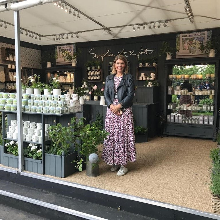 Behind the scenes Chelsea Flower Show 2019 with Sophie Allport